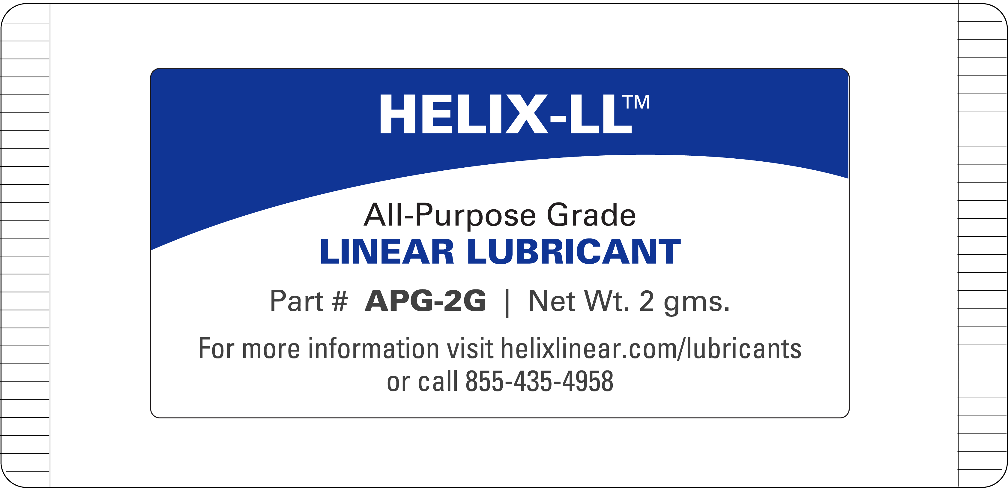 Lead Screw Grease - General Purpose -2 grams