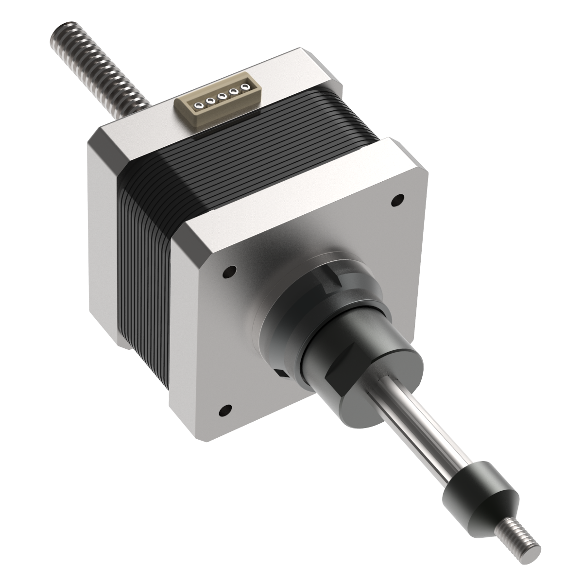 Captive Stepper Actuator